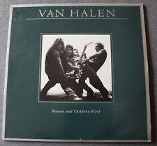Van Halen, women and children first, LP - 33 tours avec poster