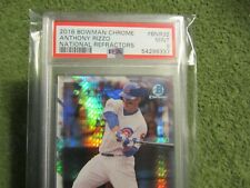 PSA 9 2016 Bowman Chrome Anthony Rizzo Nat. Refractors #BNR32 in MINT Condition