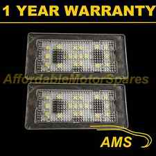 2X FOR BMW 7 SERIES E65 E66 2001-2008 18 WHITE LED NUMBER PLATE LIGHT LAMPS