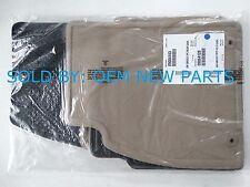 OEM 2010 2011 2012 2013 Buick LaCrosse Factory Carpet Floor Mat Set 4 Cashmere