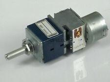 Japan ALPS RK27 100KAX2 Motorized LOG Stereo Potentiometer Dual 100K 2-gang