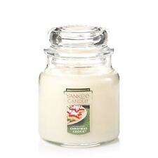 Yankee Christmas Cookie Xmas Paraffin Wax Candle - Medium **FREE DELIVERY**