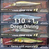 Megabass Vision 110 +1 PLUS 1 Oneten jerkbait bass fishing lures