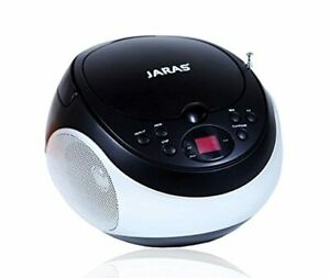 Port Portable Stereo Cd Player with Am/fm Stereo Radio and Headphone Jack New