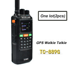 10W GPS Walkie Talkie Dual Band VHF UHF Long Range 2 Way Radio Amateur Ham Radio