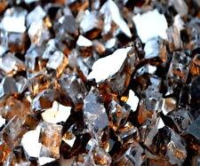 "40 LBS 1/2"" COPPER REFLECTIVE FIREGLASS Fireplace Gas Logs Fire Pit Glass Rocks"