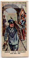1846 Napoleon III Escapes Prison Dressed As Laborer 1930s Trade Ad Card