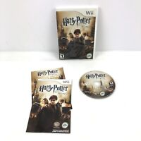 Harry Potter and the Deathly Hallows: Part 2 (Nintendo Wii, 2011) Complete