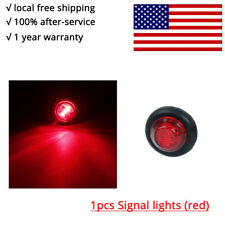 """1pcs Round 3/4"""" Red eagle eye light  lamp for truck side marker tailer taillight"""