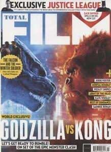 Total Film Magazine Issue 309 March 2021 Godzilla vs Kong
