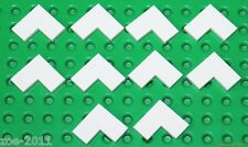 Lego 10x White Tile 2x2 Corner NEW!!!