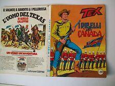 FUMETTO TEX I RIBELLI DEL CANADA  N°204  BUONE  CONDIZIONI
