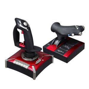PXN-2119 Flight Stick Joystick Vibration For PC Microsoft Flight Simulator 2020