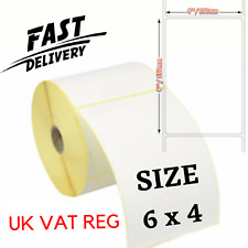 More details for large self adhesive sticky labels 150mm x 100mm 6
