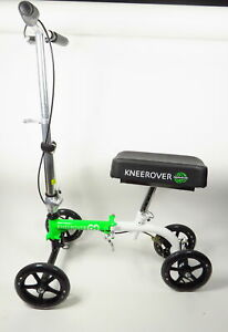NEW KNEEROVER GO KNEE WALKER- THE MOST COMPACT & PORTABLE SCOOTER CRUTCHES W/PAD