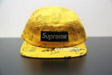 2011 S/S Supreme Gold Zodiac Camp Cap NWOT vintage hat ds rare bogo yellow