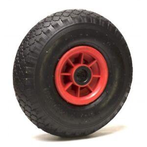 Roue gonflable pneumatique diable 260 x 85 alésage 25 mm (3.00-4) à rouleaux