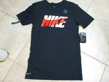 "Nike Mens T Shirt (Athletic Fit) Small Nwt $25 Black W/""Nike"" Very Cool Tee!"