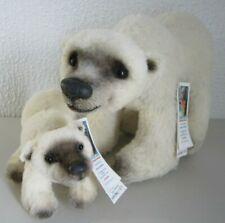 HAND MADE ARTIST TEDDY ARLENE ANDERSON LEXINGTON BEAR YUKON MAMA & BABY #1/5 WOW