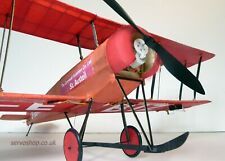 1 x Tony Ray Aero RC Avro 504K  Model Aircraft Laser Cut Balsa Kit Only - XM