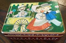 Vintage Reuge Anri Music Box Signed by Artist Plays Dr Shivago