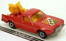 Matchbox Holden UTE Pickup Truck w/Dirt Bike Motorcycle Red 1:67 Scale Superfast