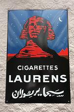 Laurens Cigarettes Enamel sign Zigaretten Emailschild Schild 60 x 40
