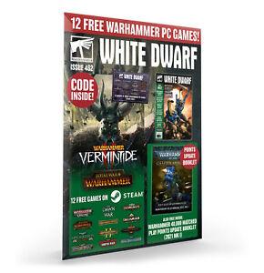 White Dwarf Issue 462 (March 2021) munitorum & 12 FREE Games Workshop PC GAMES