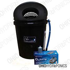 5 Gallon DWC HYDROPONIC GROW KIT SYSTEM SINGLE SITE Bubbleponics 5# DWC