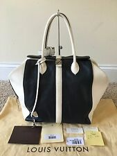 AUTHENTIC Louis Vuitton Limited Edition Speedy North South Navy Handbag M94189