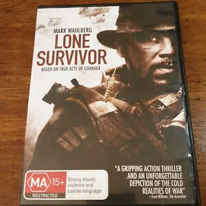 Lone Survivor DVD R4 LIKE NEW FREE POST