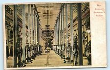 *The Armoury Armory Governor's Palace Malta Malte Vintage Postcard A33