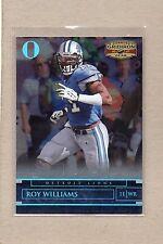 roy williams detroit lions 2007 gridiron gear O's 18 #22/25 sp