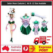 G36 Sailor Moon Jupiter Costume Cosplay Uniform Sailormoon Fancy Dress & Gloves