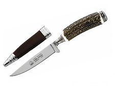 PUMA Trachtenmesser Jagdmesser mit Horngriff Jagd Nicker Jäger Abfangmesser