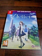 Root Letter Last Answer Day One Edition outer box ONLY Nintendo Switch
