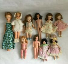 Lot Of Vintage Dolls Mccall,Ideal,Barbie Lots Of Homemade Clothes