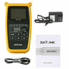 Neu Satlink WS-6933 Camping Satfinder HD DVB-S+DVB-S2 8PSK SAT Messgerät OVP DE