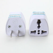 EU Europe To USA US UK Charger Power Plug Adapter Converter Wall Plug Home