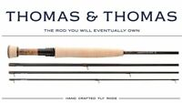 "Thomas & Thomas Contact II, 1094-4 Fly Rod - 10'9"" - 4wt - 4pc - FREE FLY LINE"