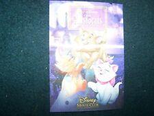 Disney THE ARISTOCATS special edition 3d lenticular card