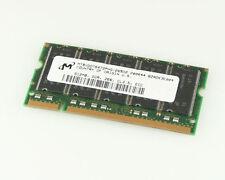 1x Micron SDRAM DDR 512MB 200 PIN SODIMM Memory Module Ram MT9VDDT6472PHG-265D2
