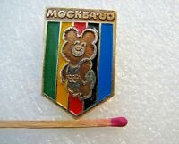 Olympic Pin Badge Moscow 1980