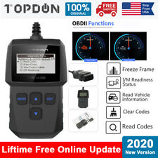 OBD2 Car Diagnostic Scan Tool Automotive Fault Code Reader Reset Engine Analyzer