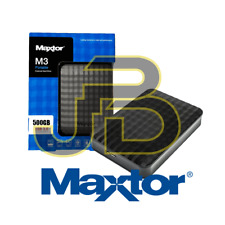 HARD DISK 2,5 500 GB MAXTOR SAMSUNG ESTERNO SLIM AUTOALIMENTATO HARDISK  M3