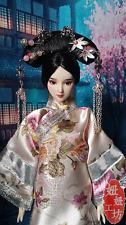 Handmade Qing Dynasty Barbie Kurhn Outfit Traditional Chinese Qipao Cheongsam #1
