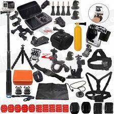 Selfie Sticks Accessories Kit for Gopro HERO 5 3+ 4 Session Hero 3 SJCAM SJ5000