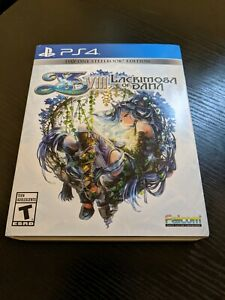Ys VIII - Lacrimosa of Dana Day One Steelbook Edition - Complete and Excellent