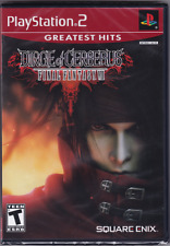 Final Fantasy VII 7: Dirge of Cerberus [PlayStation 2 PS2, NTSC RPG Game] NEW