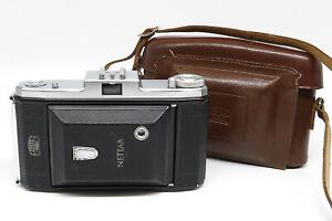 Zeiss Ikon Nettar 517/2 w/Novar 1:4.5 105mm - Case - Excellent vintage condition